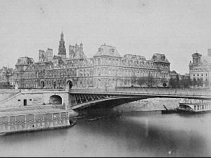 Hotel de Ville in Paris 1871